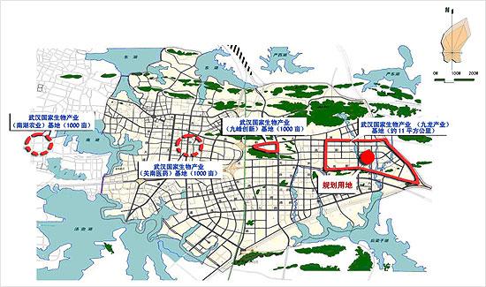 武汉光谷地图高清版